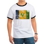Saint Vincent Flag Ringer T
