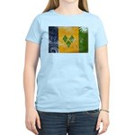 Saint Vincent Flag Women's Light T-Shirt