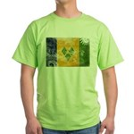 Saint Vincent Flag Green T-Shirt
