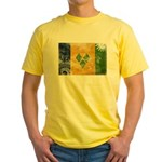 Saint Vincent Flag Yellow T-Shirt