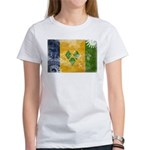 Saint Vincent Flag Women's T-Shirt