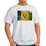 Saint Vincent Flag Light T-Shirt