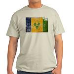 Saint Vincent Flag Light T-Shirt