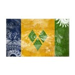 Saint Vincent Flag 38.5 x 24.5 Wall Peel