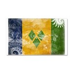 Saint Vincent Flag Car Magnet 20 x 12