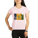 Saint Vincent Flag Performance Dry T-Shirt
