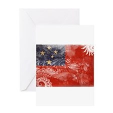 Samoa Flag Greeting Card