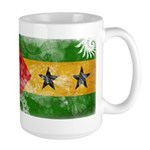 Sao Tome and Principe Flag Large Mug
