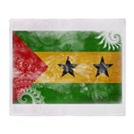 Sao Tome and Principe Flag Throw Blanket