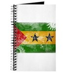 Sao Tome and Principe Flag Journal