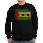Sao Tome and Principe Flag Sweatshirt (dark)