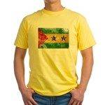 Sao Tome and Principe Flag Yellow T-Shirt