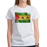 Sao Tome and Principe Flag Women's T-Shirt