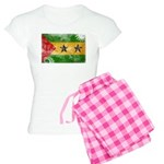 Sao Tome and Principe Flag Women's Light Pajamas