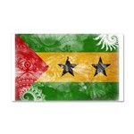 Sao Tome and Principe Flag Car Magnet 20 x 12