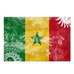 Senegal Flag Postcards (Package of 8)