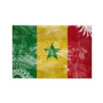 Senegal Flag Rectangle Magnet (100 pack)