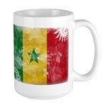 Senegal Flag Large Mug