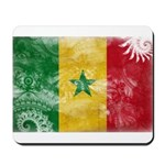 Senegal Flag Mousepad