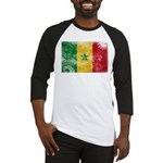 Senegal Flag Baseball Jersey