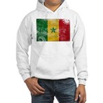 Senegal Flag Hooded Sweatshirt