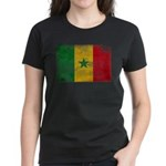 Senegal Flag Women's Dark T-Shirt