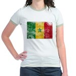 Senegal Flag Jr. Ringer T-Shirt