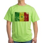 Senegal Flag Green T-Shirt