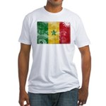 Senegal Flag Fitted T-Shirt