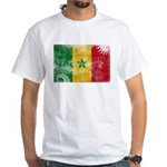 Senegal Flag White T-Shirt