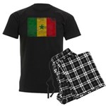 Senegal Flag Men's Dark Pajamas