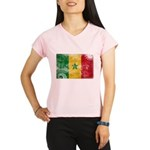 Senegal Flag Performance Dry T-Shirt