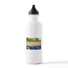 Sierra Leone Flag Water Bottle