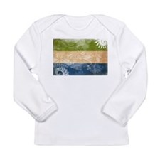 Sierra Leone Flag Long Sleeve Infant T-Shirt