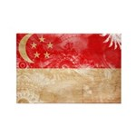 Singapore Flag Rectangle Magnet (100 pack)