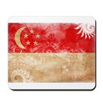 Singapore Flag Mousepad