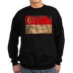 Singapore Flag Sweatshirt (dark)