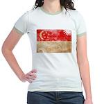 Singapore Flag Jr. Ringer T-Shirt