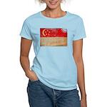 Singapore Flag Women's Light T-Shirt