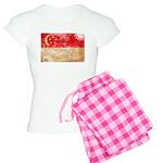 Singapore Flag Women's Light Pajamas