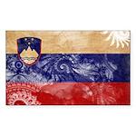 Slovenia Flag Sticker (Rectangle)