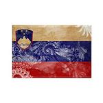 Slovenia Flag Rectangle Magnet
