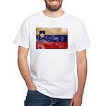 Slovenia Flag White T-Shirt
