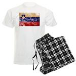Slovenia Flag Men's Light Pajamas