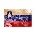Slovenia Flag Car Magnet 20 x 12