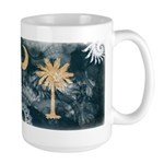 South Carolina Flag Large Mug