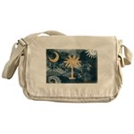 South Carolina Flag Messenger Bag
