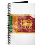 Sri Lanka Flag Journal