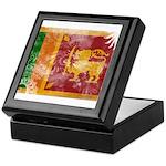 Sri Lanka Flag Keepsake Box