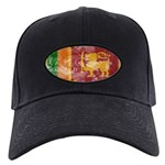 Sri Lanka Flag Black Cap